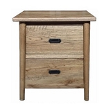 Malibu 2 Drawer Bedside